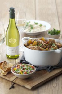 Curry Chicken and Chardonnay