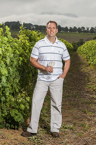 Pieter Badenhorst, Winemaker of Fleur du Cap white wines